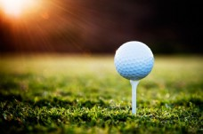 高尔夫球摄影图片