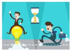 想法竞争商业插画