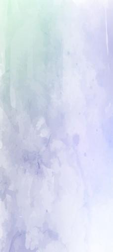 浅蓝色水彩背景