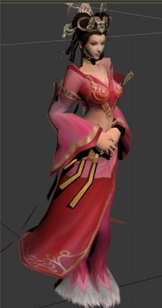 古代美女貂蝉