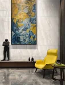 室内大理石瓷砖地面psd抠图贴图换墙砖