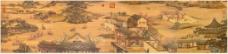 古代风景图装饰画