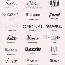 设计字体 艺术字ttf下载