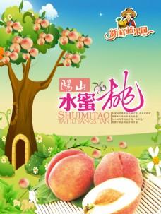 阳山水蜜桃海报