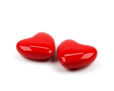 两颗红心图片
