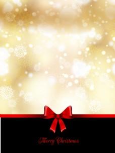 金色的背景虚化的圣诞背景