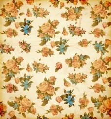 玫瑰旧货美容纸艺术品