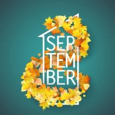 秋天的背景设计