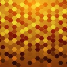 2017创意六边形底纹元素H5背景