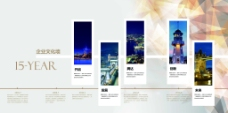企业文化 简约 企业展板墙 公司墙海报