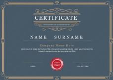 欧式荣誉证书