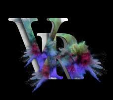 VR艺术字设计