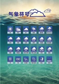 气象矢量符号