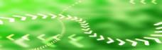 绿色箭头背景
