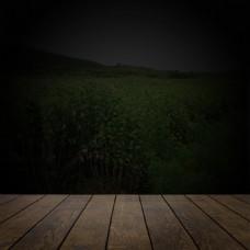 木板黑色背景