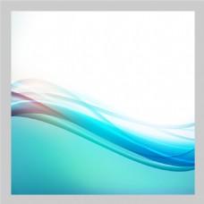 2017创意蓝色块曲线底纹元素H5背景
