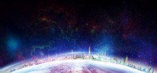 大气星空背景