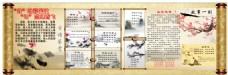语文科组古诗词水墨中国风宣传栏展板