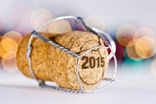 瓶塞上的2015图片