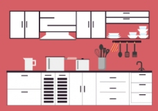 扁平厨房设计方案