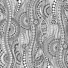 抽象的图案设计