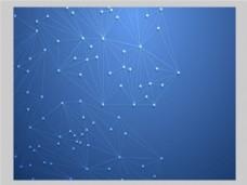 2017蓝色创意点线组合底纹元素H5背景