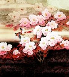 美丽树花创意时尚装饰画