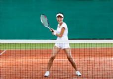 大叫的网球运动员图片