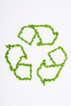 创意循环环保标志图片
