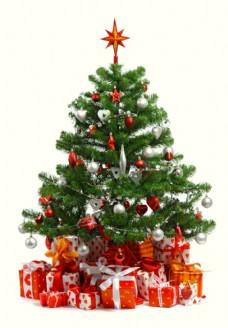圣诞树与礼物图片