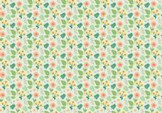 绿色清新花卉背景