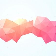2017创意三角形拼接底纹元素H5背景