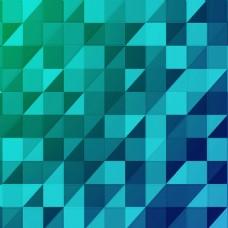 2017蓝色创意三角形矩形元素H5背景