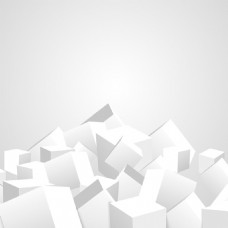 2017创意立方体堆垒元素效果H5背景