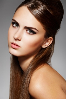 美容美发模特美女图片