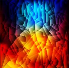 多彩多边形背景