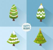 绿色圣诞树系列