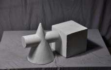 石膏几何体 正方体