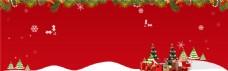 圣诞节Banner背景模板