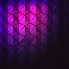 2017紫色多边形创意底纹元素H5背景