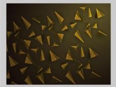 2017创意多面体排列底纹元素H5背景