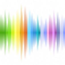 2017创意彩色线条渐变元素H5背景