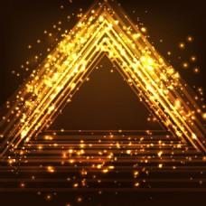 2017创意三角形线条底纹元素H5背景