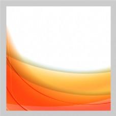 2017创意曲线橙色块底纹元素H5背景