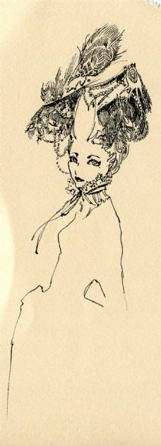 时尚女装发型设计图
