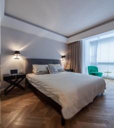 卧室现代风格设计图片素材