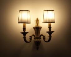 时尚壁灯装饰摄影图片
