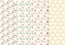 清新小花花卉背景