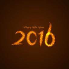星空新年背景