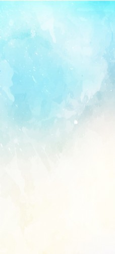 蓝色水彩背景